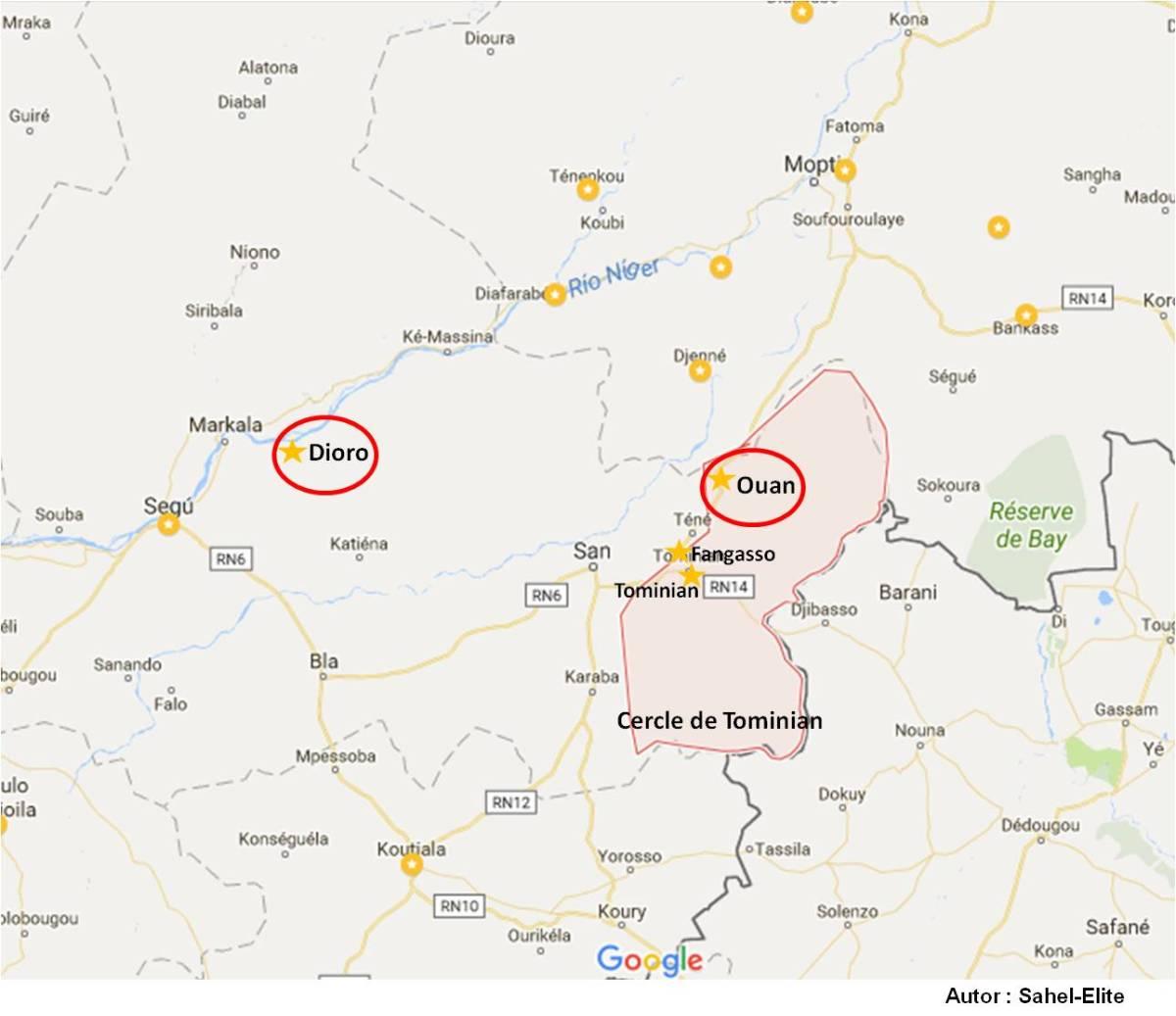 Mali – Ségou : Un gendarme malien tué et deux blessés dans une attaque double perpétrée contre les postes de la Gendarmerie nationale à Ouan etDioro