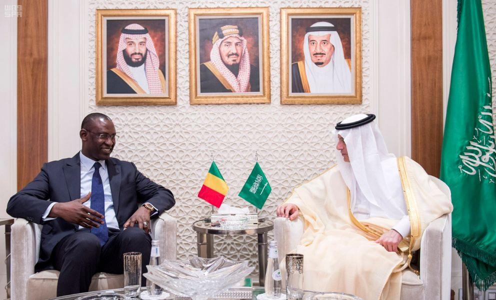 Mali /Saudi Arabia : Al-Jubeir receives FM ofMali
