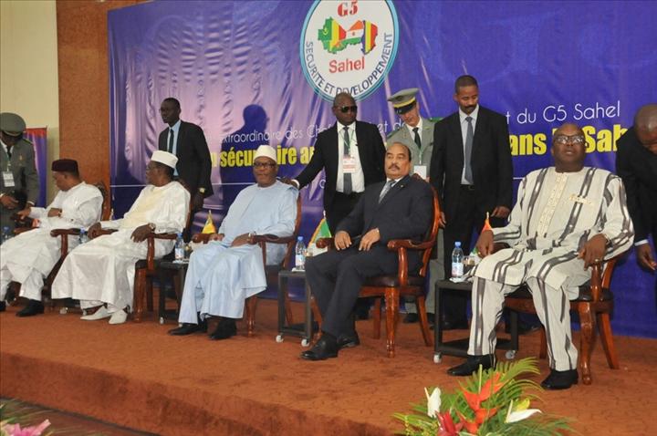 G5 Sahel : Sommet des dirigeants du G5 Sahel et de l'UE le 14 décembre àBruxelles