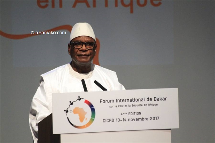 Mali – G5 Sahel : le soutien international, « faible et ridicule » (PdtKeïta)