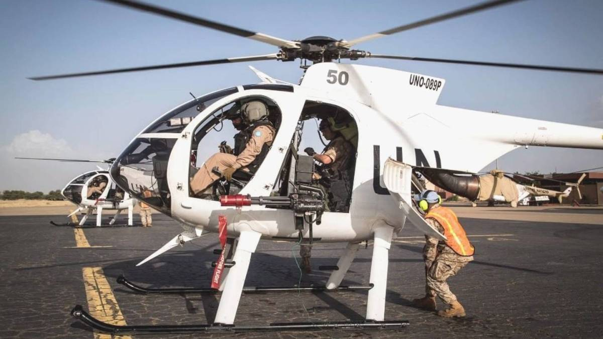 Mali – Armed UN Little Bird Helicopters Are a Big Deal for Peacekeepers in Mali