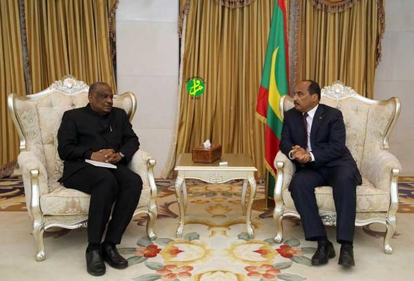 Mauritanie / G5 Sahel : Le Président de la République reçoit le Secrétaire permanent duG5-Sahel