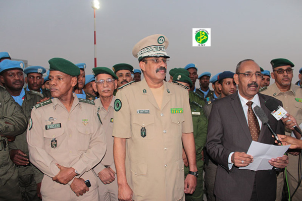 Mauritanie : Départ d'un contingent de la gendarmerie nationale à destination de la Centrafrique et retour à Nouakchott d'un autrecontingent
