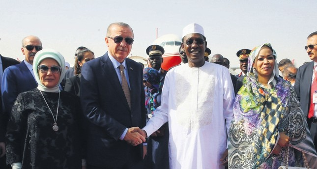 Chad visit showcases Turkey's aim to reinforce cooperation inAfrica