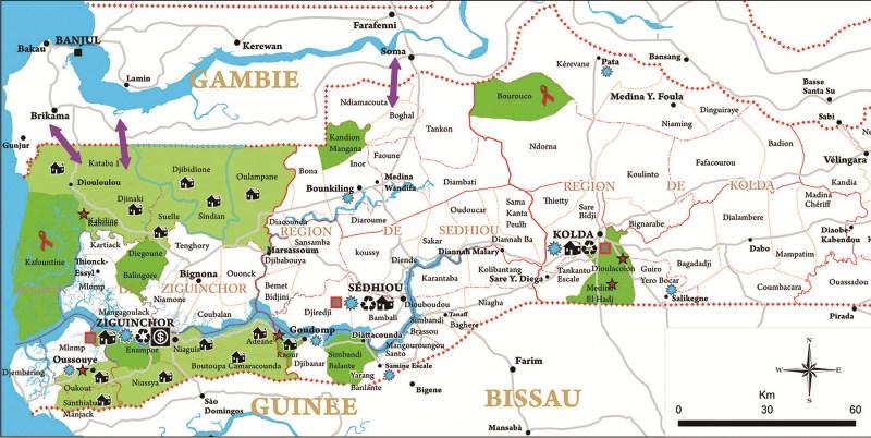 Sénégal /Sécurité : Le massacre de Boffa, version confusion géographique(précission)
