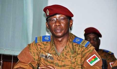 Burkina/Militaire: Présumé coup d'Etat du colonel Barry: trois civils interpellés, des officiersentendus