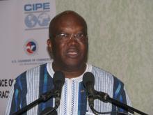 Burkina : Roch Kaboré appelle à une gouvernance concertée entre politiques etéconomistes