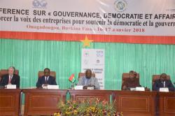 Burkina : Gouvernance, démocratie et affaires : La Déclaration de Ouagadougou prône une économie demarché