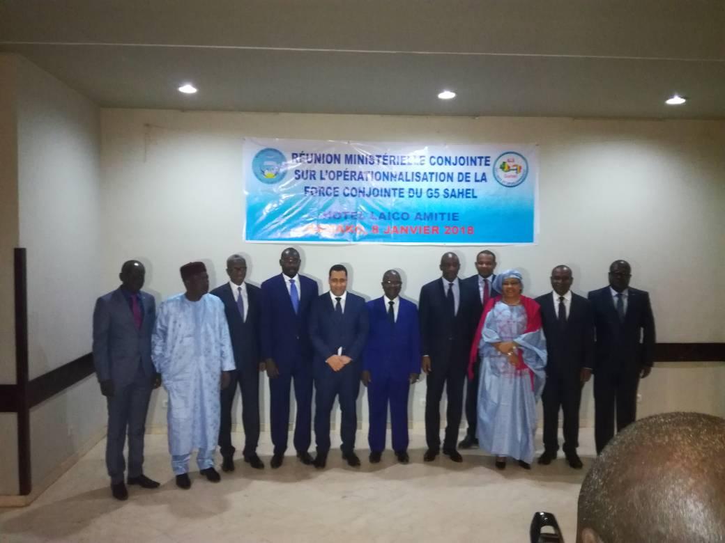 Mali/G5 Sahel : Adoption des documents relatifs à la création d'un mécanisme de mobilisation, de coordination et de gestion des contributions de laFC