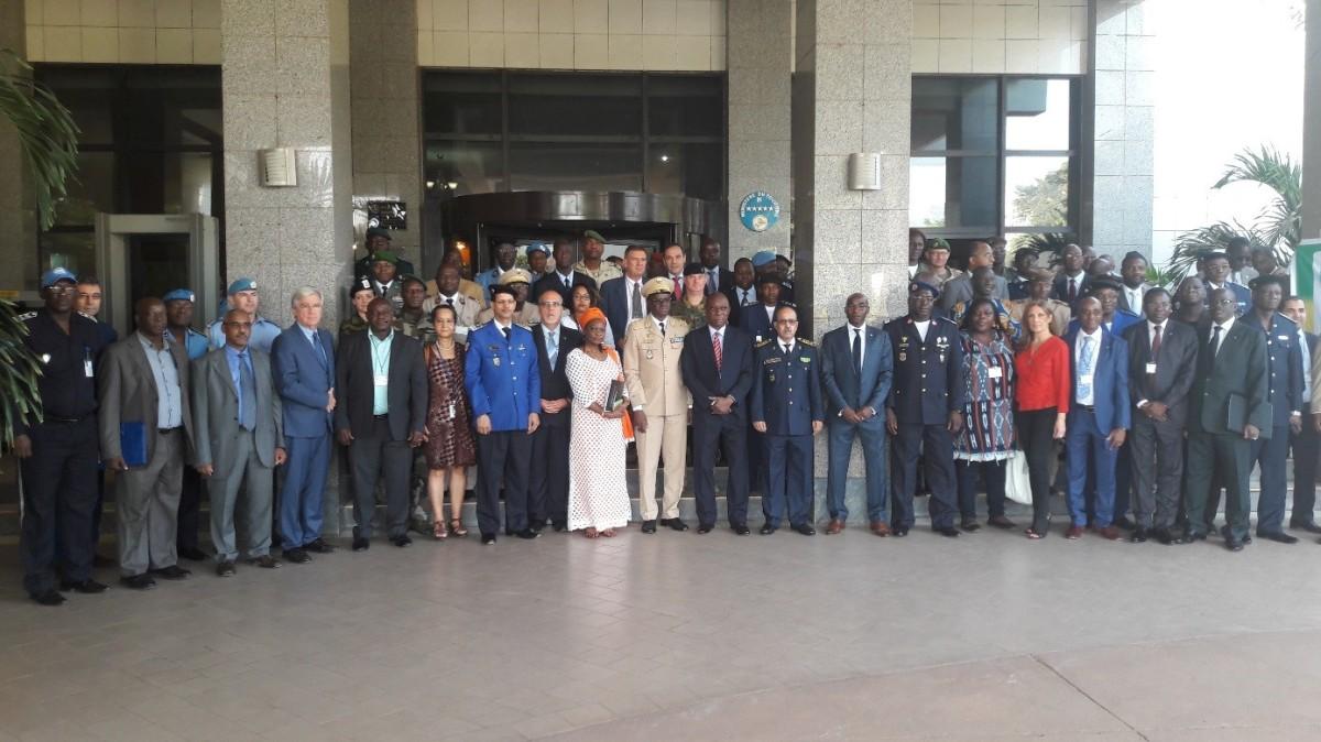 Mali / G5 Sahel – L'ONUDC facilite l'adoption de la composante police de la Force conjointe du G5Sahel