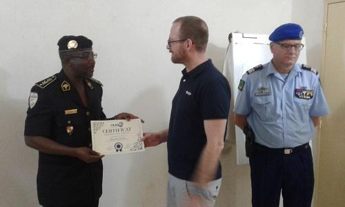 Niger/EUCAP-SAHEL : Fin de la formation du personnel de la Police Technique et Scientifique sur la criminalité organisée, le terrorisme et la cybercriminalité