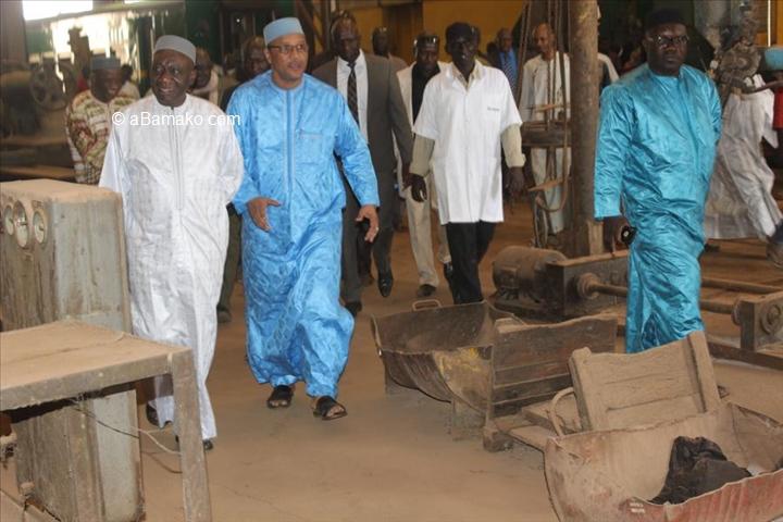 Mali/Sénégal : Transport ferroviaire Bamako-Dakar : Le nouveau ministre de tutelle s'enquiert des réalités duterrain.