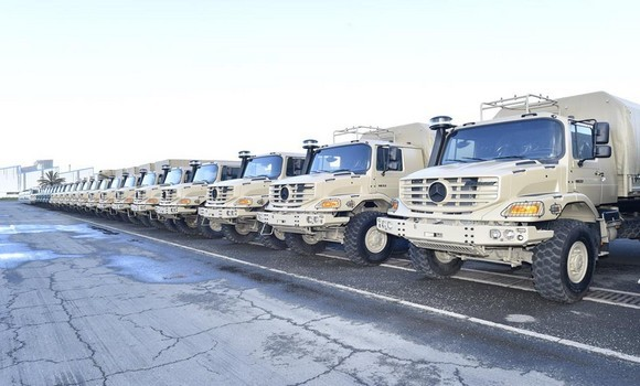 Algeria – Military industry: 771 multipurpose Mercedes-Benz vehicles delivered