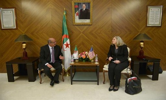 US/Algeria: Messahel receives Department of State's Acting Principal Deputy Coordinator for Counterterrorism