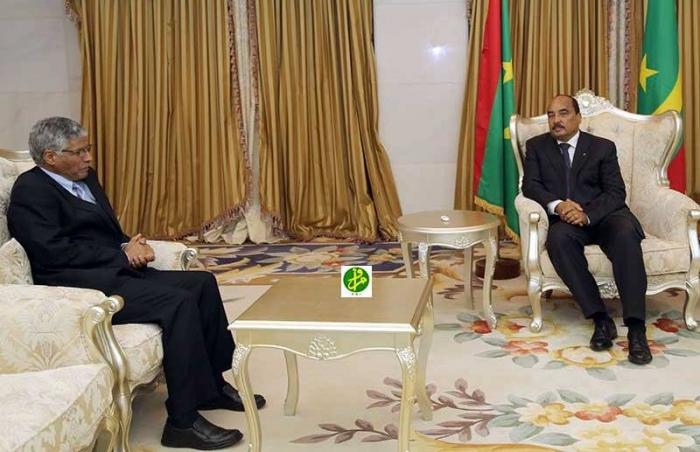 Sahara/Mauritanie : L'envoyé spécial du président de la République poursuit ses entretiens à Nouakchott avec les responsables et chefs de partis politiques enMauritanie