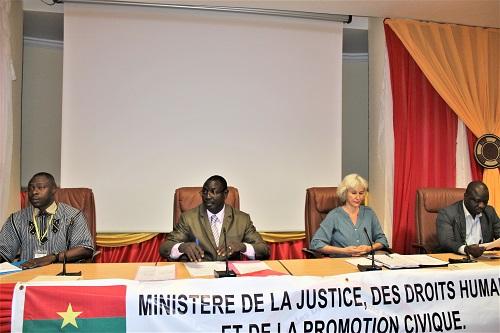 Burkina/Justice : Le schéma directeur informatique en cours devalidation