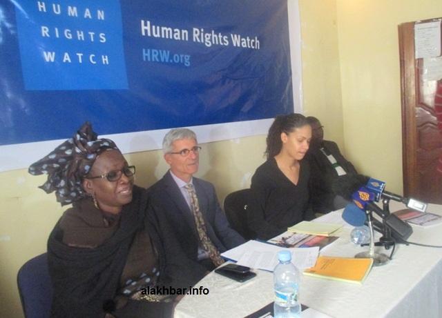 Mauritanie : échec de la conférence de presse de Human Rights Wach àNouakchott