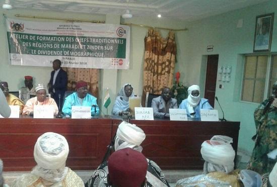 Niger – Les chefs traditionnels des Régions de Maradi et Zinder en formation sur le dividendedémographique