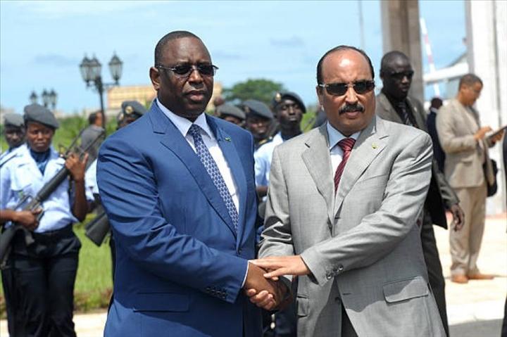 Mauritanie/Sénégal: pêche et exploitation du gaz off shore au centre de la visite de MackySall