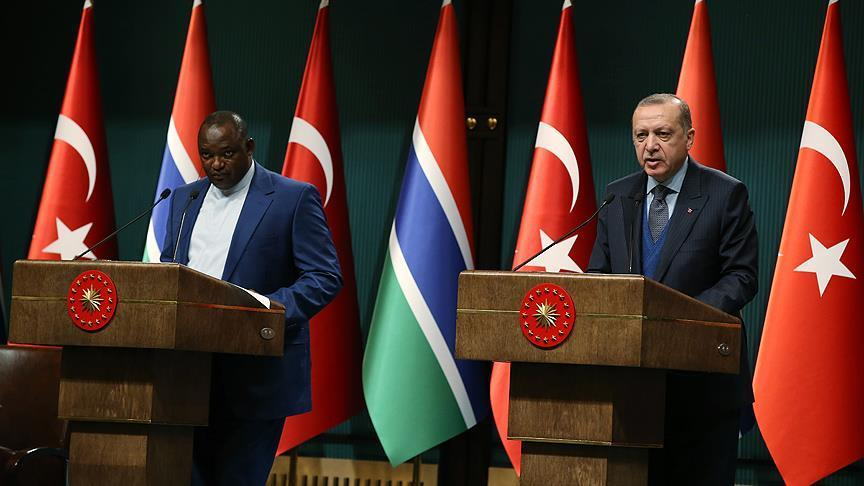 Gambia/Turkey : Turkey hails Gambia's support in fight againstFETO