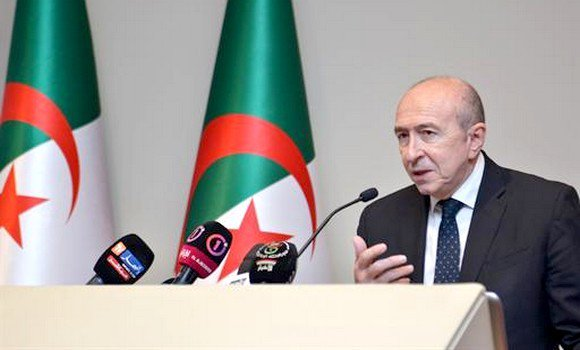 Collomb welcomes Algeria's efforts to restore peace in #Mali,Libya