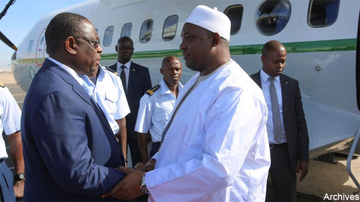 Senegal/Gambia : Barrow, Macky issue joint communiqué