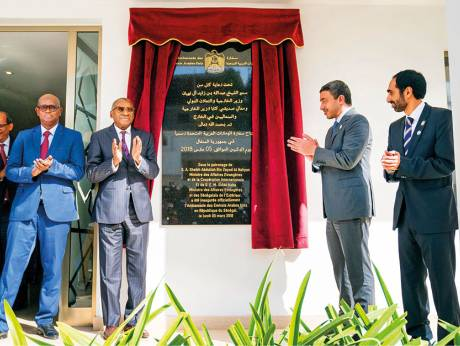 UAE – Abdullah opens new UAE Embassy inSenegal