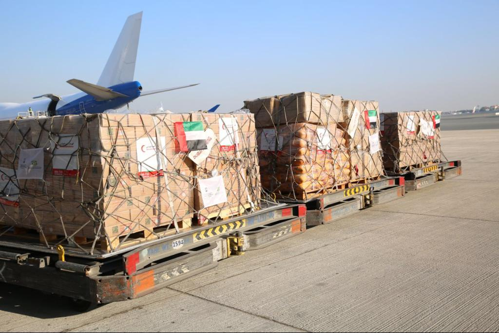 Mali – UAE aircraft carrying 100 tonnes of food supplies arrives inMali