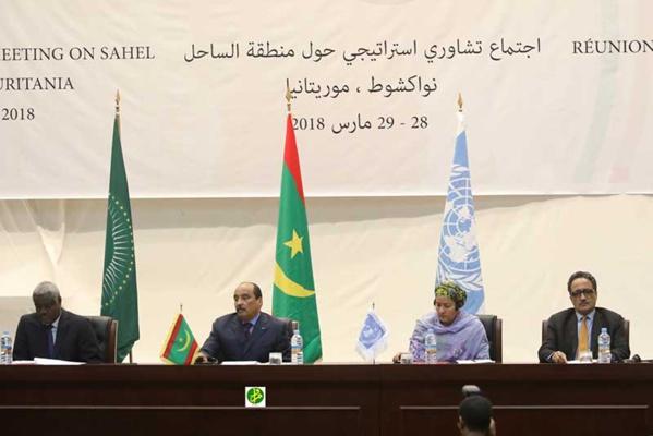 Mauritanie / G5 Sahel  – Le Président de la République préside l'ouverture d'une réunion consultative stratégique sur la zone duSahel