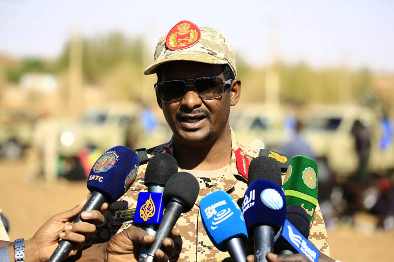 Sudan – RIF leader says Sudanese troops stand ready to defend homeland