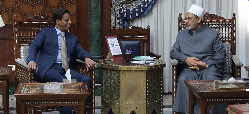 Mauritanian envoy discusses ways to enhance ties with Al-Azhar