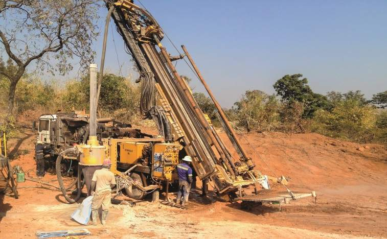 Mali /Australia – Oklo Resources' drilling extends gold zone to a depth of 185 metres in Mali
