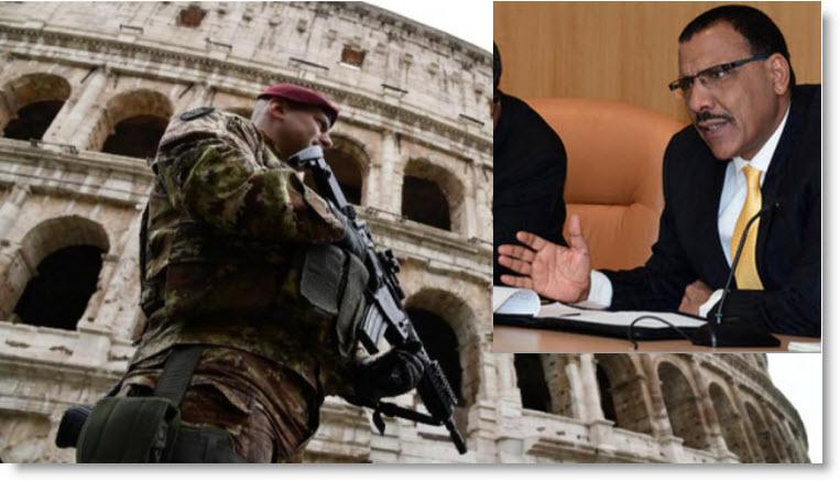 Niger – Pour la deuxième fois, le gouvernement dit « non » à l'arrivée de soldats italiens contre l'immigration clandestine et leterrorisme
