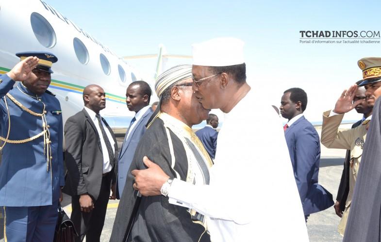 Tchad/Gabon –  Ali Bongo consulte Idriss Déby sur les problématiques de la sous-región(26/02)