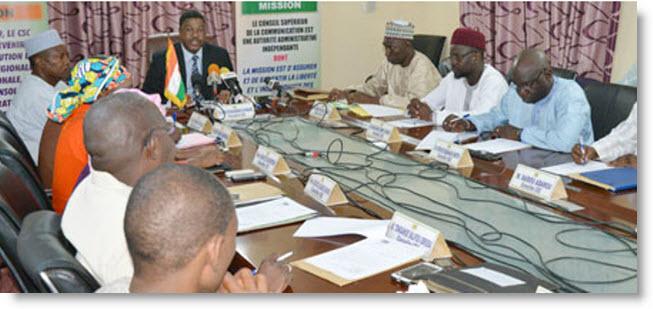 Niger – Le Collège électoral pour l'élection des nouveaux membres du CSC convoqué pour le 17 Mars prochain(officiel)