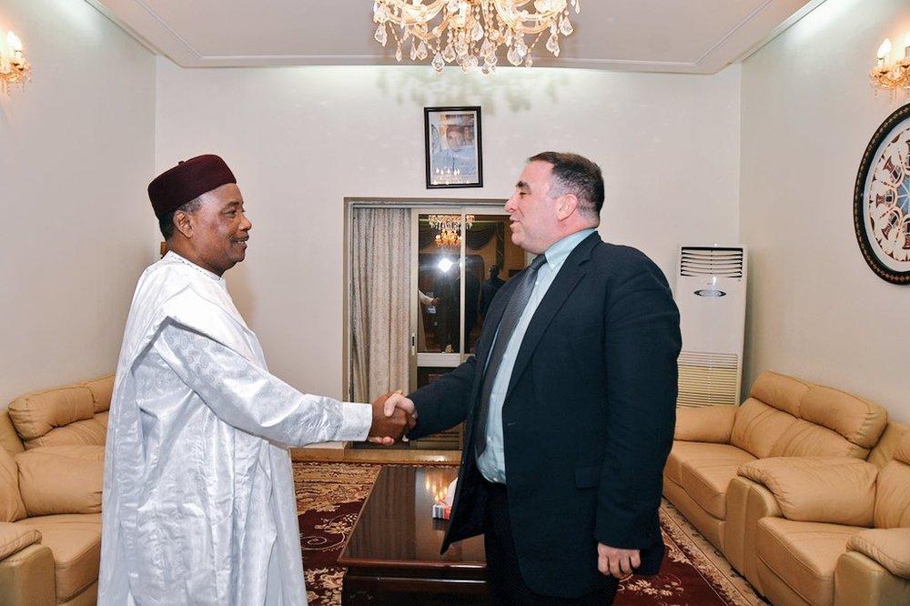 Niger – Le Chef de l'Etat s'entretient avec le Commandant adjointd'AFRICOM