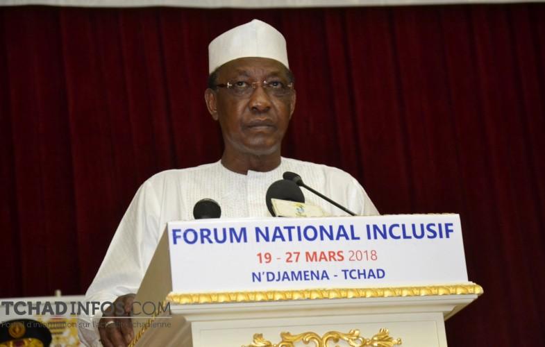 Tchad : Idriss Déby Itno annonce la 4èmeRépublique