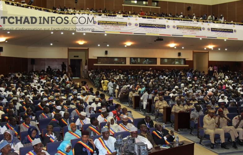 Tchad – Forum National Inclusif : Deby invite à trouver la bonne formule pour la responsabilisation descollectivités
