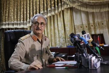 Haftar Libyan army officials paid secret visit to Sudan:report