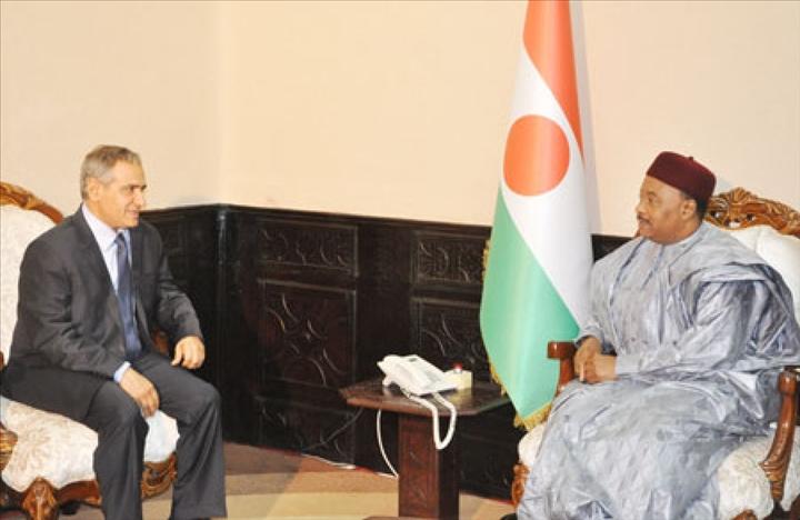 Niger -Le Président Directeur Général de la BSIC reçu par le Chef del'Etat