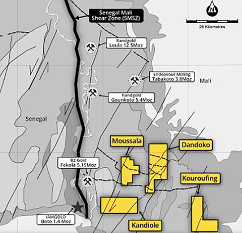 Mali – Oklo Resources' acquisition of Kandiole Sud adds another string to its bow in highly prospective territory