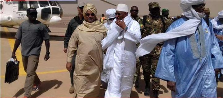 Mali/Burkina Le Premier ministre malien en visite de travail àOuagadougou