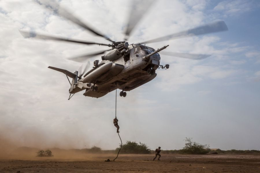 US military flights still suspended in Djibouti, but operations in Africacontinue