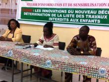 Burkina – Travaux dangereux interdits aux enfants : le nouveau décret présenté àBanfora