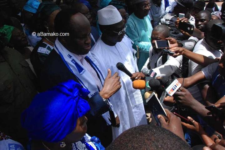 Mali – Présidentielle de 2018 : Le PARENA soutient l'URD, Soumaila Cissé désigne Tiébilé comme directeur decampagne