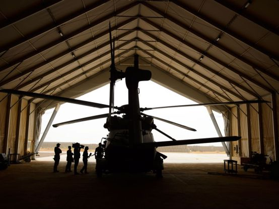 Mali – A look at UN helicopter flights in Mali by Germans, Belgians