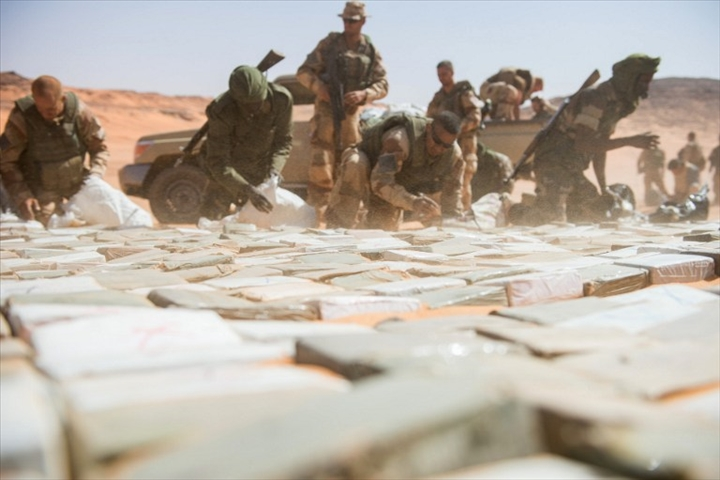 Niger – Saisie de 2,5 tonnes de résine de cannabis d'une valeur de plus de 3 milliards de FCFA àNiamey