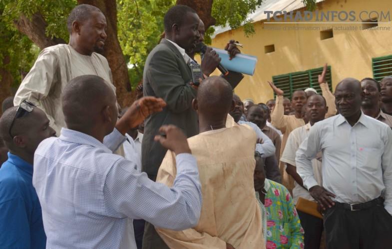 Tchad : les enseignants refusent de lever leur mot d'ordre degrève
