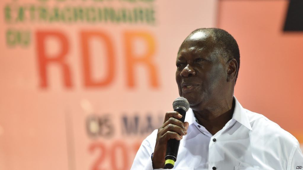 Côte d'Ivoire : la coalition au pouvoir se fonde dans un «parti unifié» présidé par AlassaneOuattara