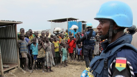Global Peacekeeping Operations Overwhelmingly African and in Africa
